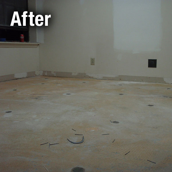 Ann Arbor​ Concrete Floor Leveling - After