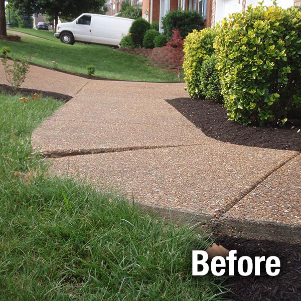 Concrete Repair Before And After Ann Arbor Concrete