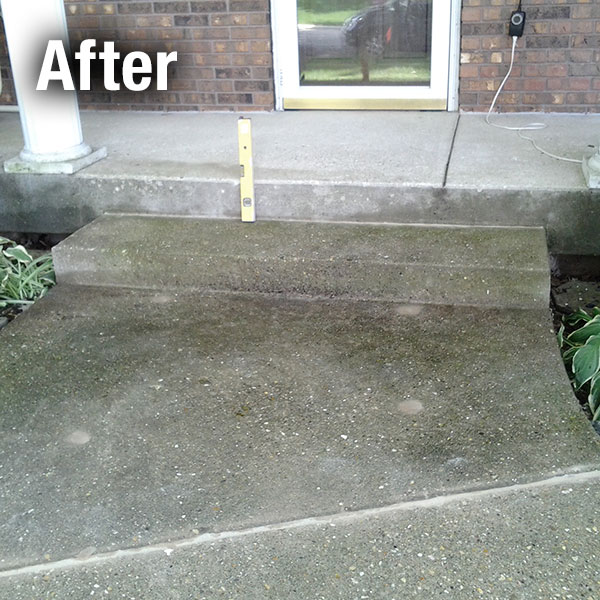 Ann Arbor Concrete Step Repair - After