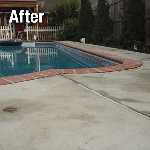 Ann Arbor, Concrete Pool Deck Leveling - After